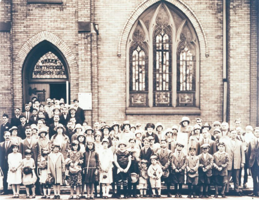 Congregation circa 1925