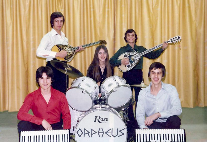 Orpheus, Greek American Band