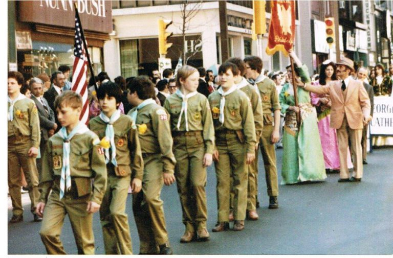 Boy Scouts of Troop 302