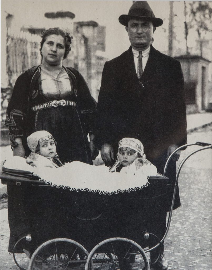Carriage with Girls and Couple